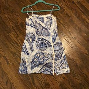 Lilly Pulitzer Jesse Romper in Stuffed Shells